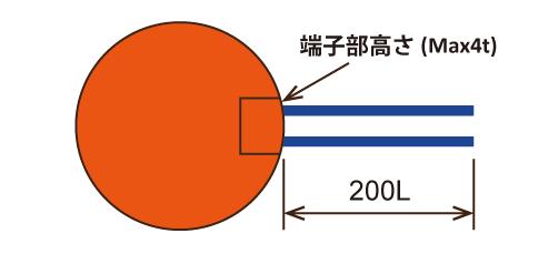 丸型寸法図