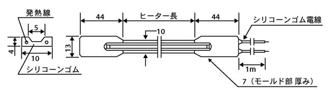 SCHタイプ寸法図