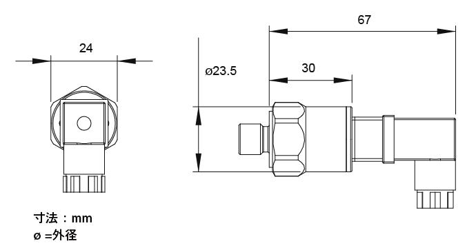 小型圧力センサー