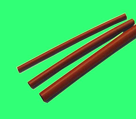 シリコーンチューブ(7AV 耐熱用ベンガラ色)